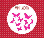 Mini Motiv ♥ 9 Schmetterlinge
